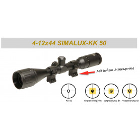 Simalux 4-12x44AO KK50m für DSB Disziplinen
