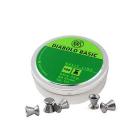 RWS BASIC Diabolo 4,5 mm (für Luftdruck-Waffen)