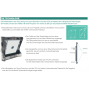 SportQuantum SQ10 - Pantalla electrónica interactiva de objetivo/hit