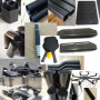 Milling, turning parts, eroding, anodizing, laser marking, carbon parts