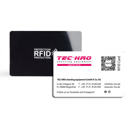 TEC-HRO RFID Blocker Card