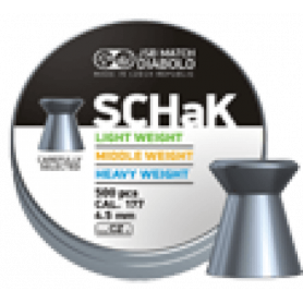 JSB SCHaK Diabolo 4,5mm (for airguns)
