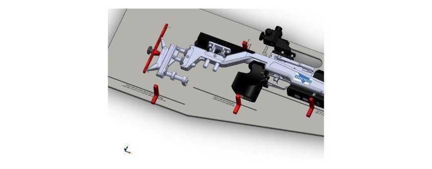 Waffenkontrolle - Messplatte