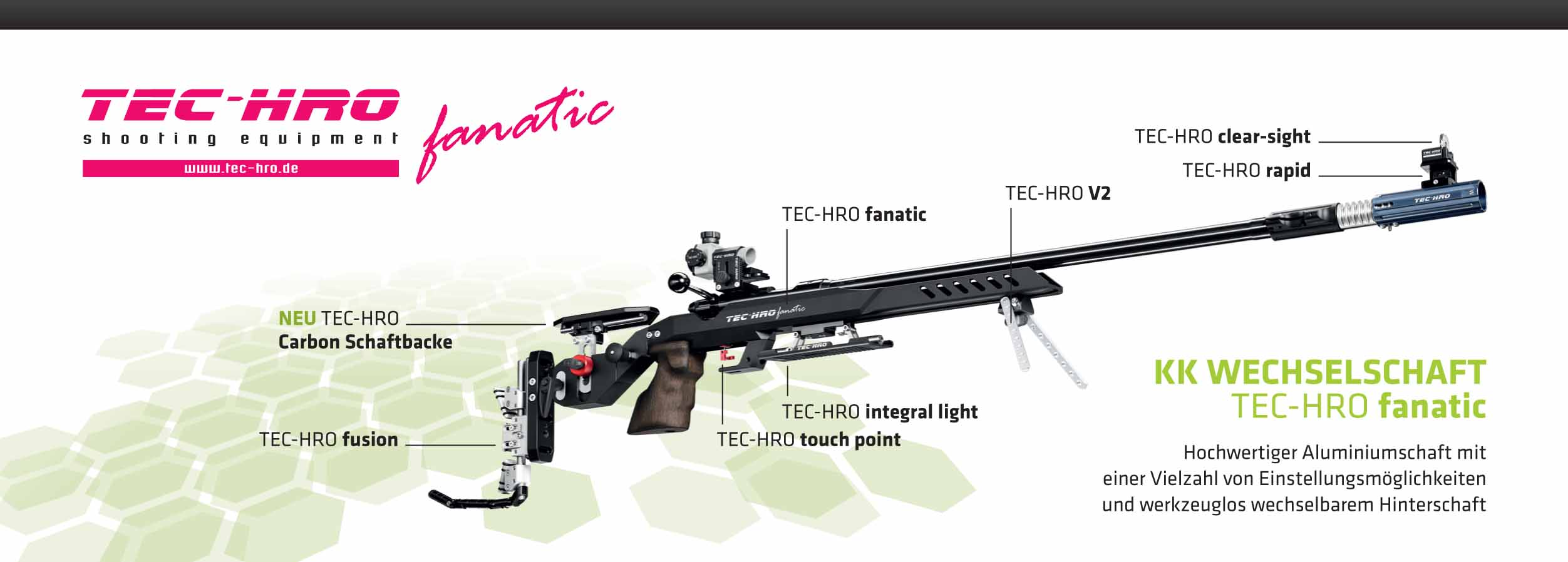 TEC-HRO Fanatic Alu-Schaft
